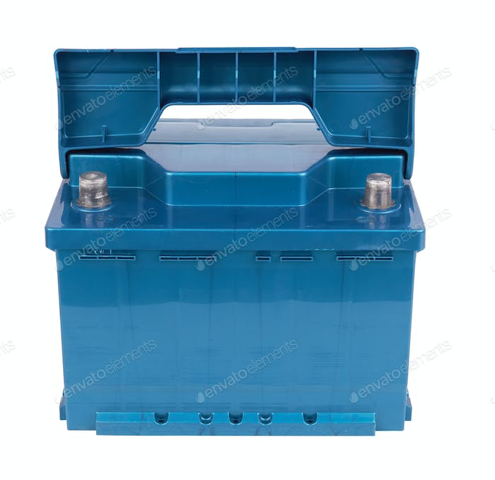 Car battery isolated