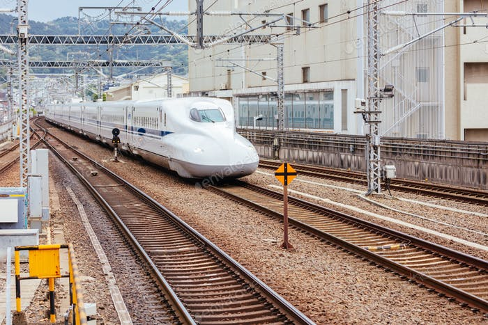 Shinkansen High-Speed Bullet Train
