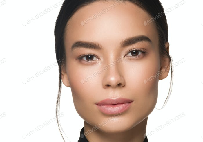 Asia Beauty Frau gesunde Haut kosmetische Spa-Konzept