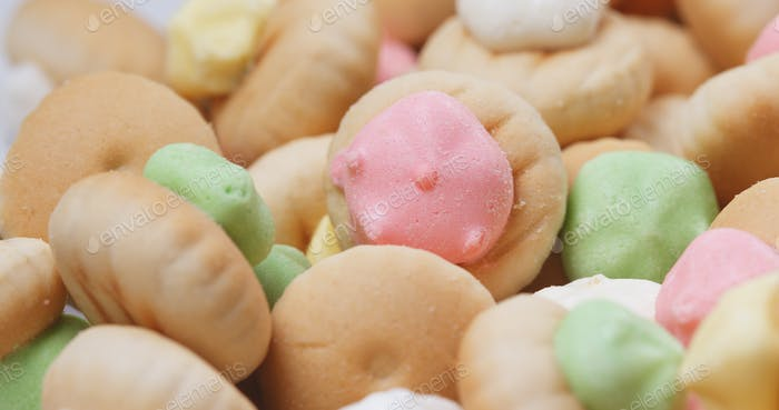 Iced gem biscuit