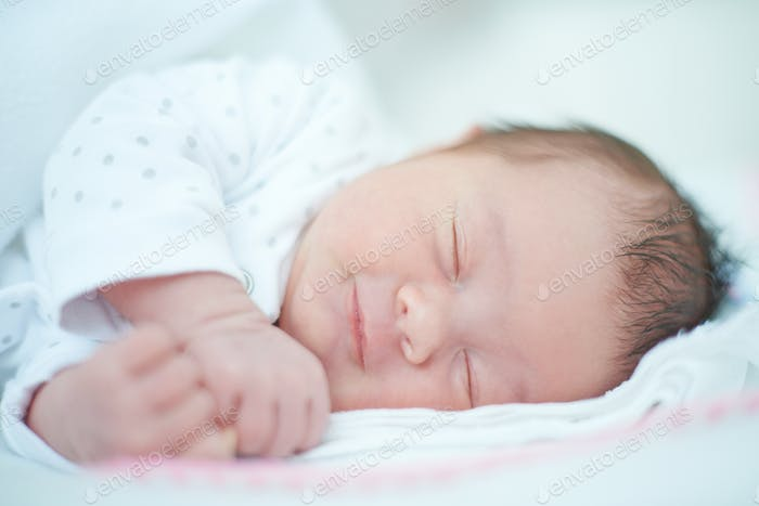 Close up of Sleeping Baby