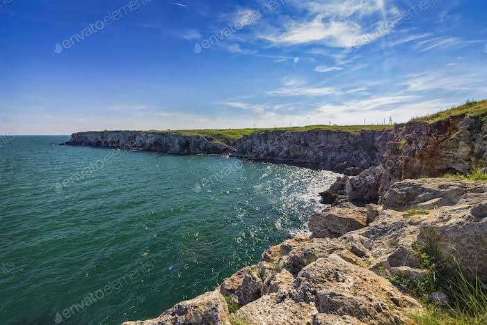 ocky coastline