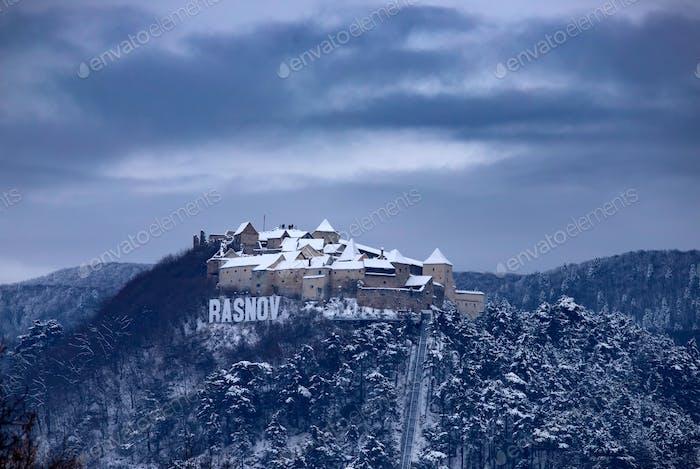 Burg Rasnov, Brasov, Rumänien