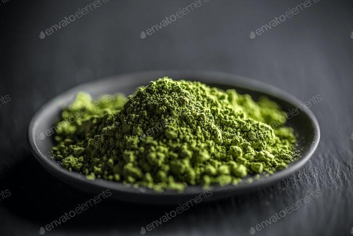 Macha green powder