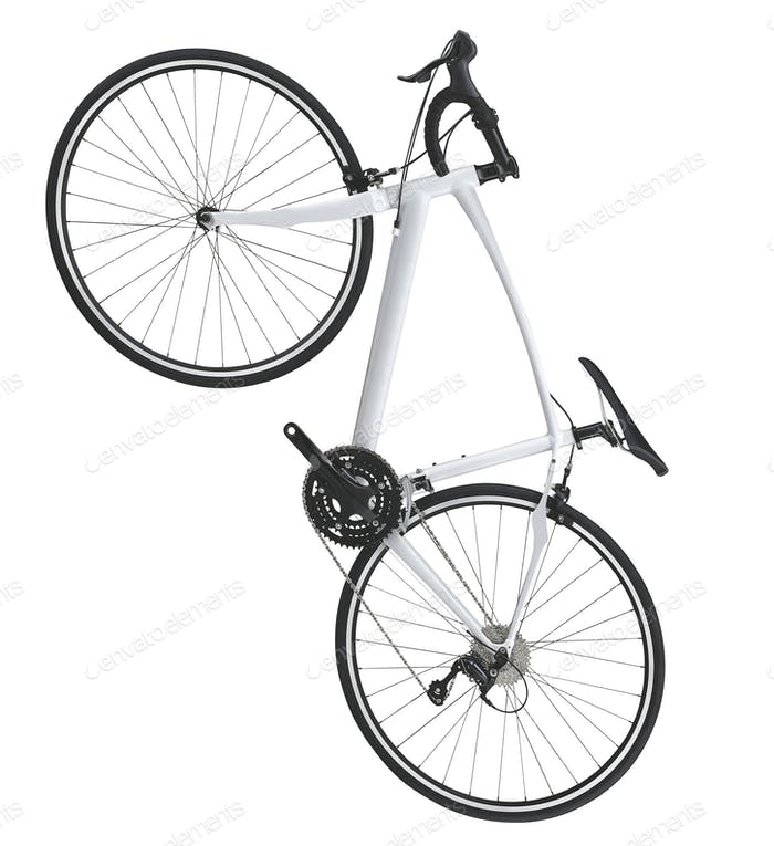 Mountain bicycle bike isolated