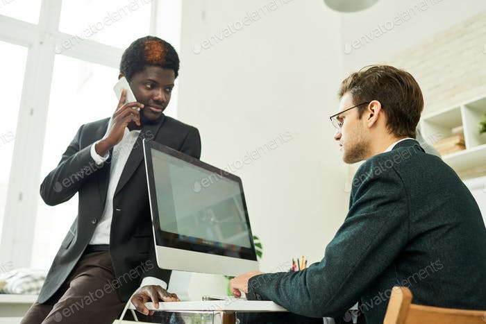 Business Professionals in Office
