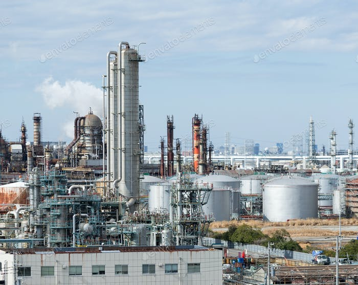 Refinery petrochemical plant