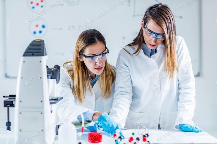 Biotechnologieforschung