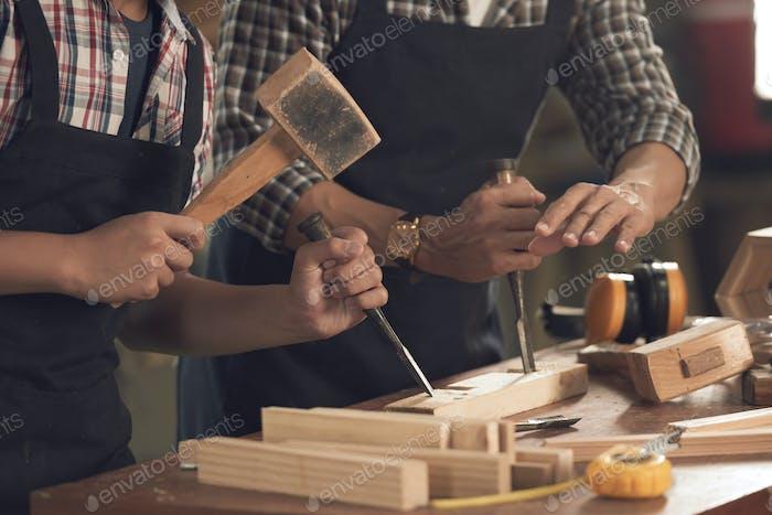 Using chisel