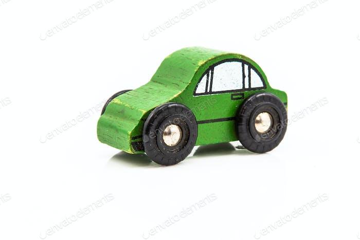 Holz-Autospielzeug