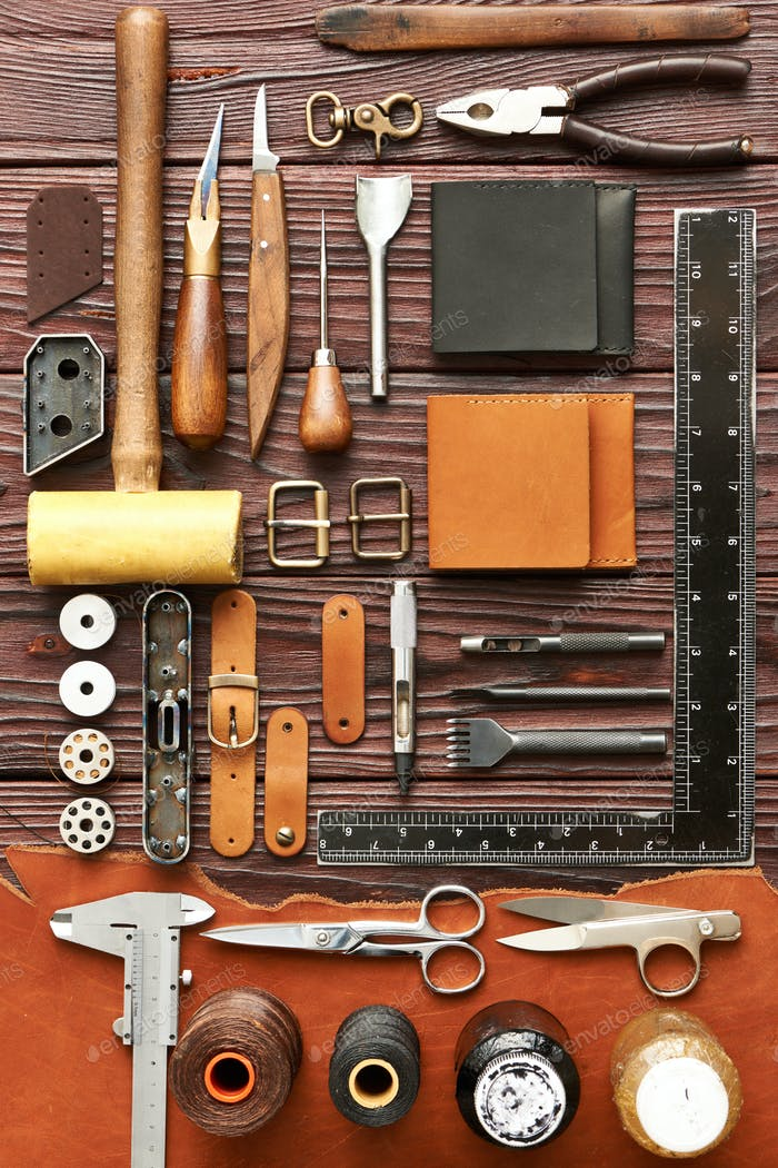 Leather crafting tools