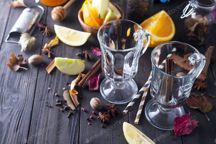 Mulled wine recipe ingredients