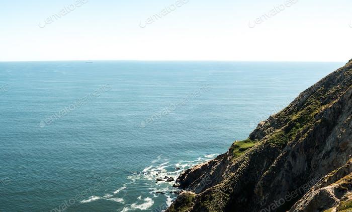 Cliffs on the Coast