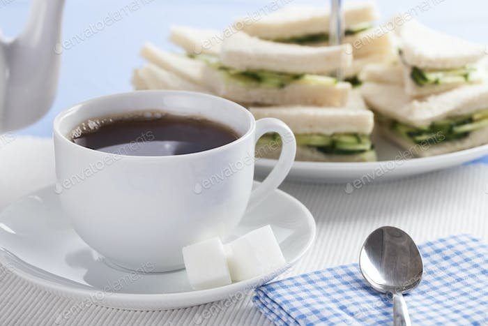 Tea and Cucumber Sandwiches