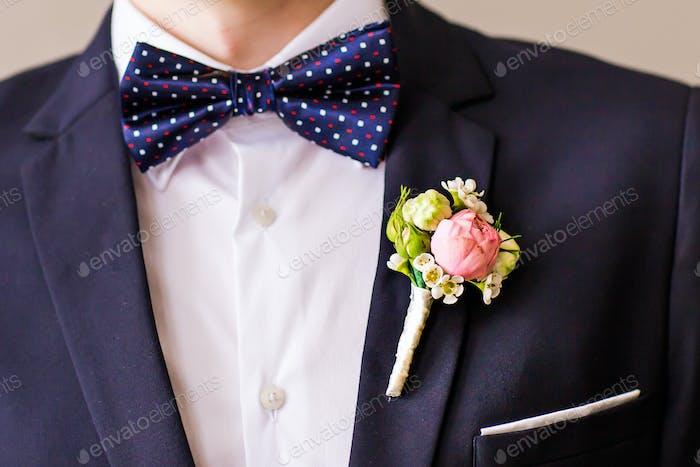 gekleideter Mann