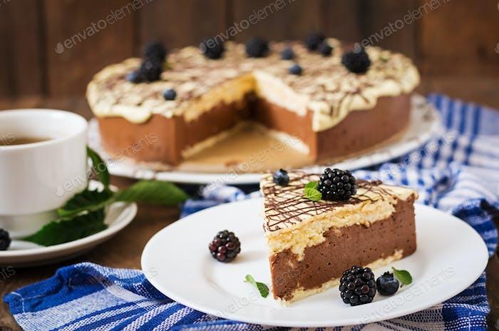 "Chocolate Cake ""Bird's milk"""
