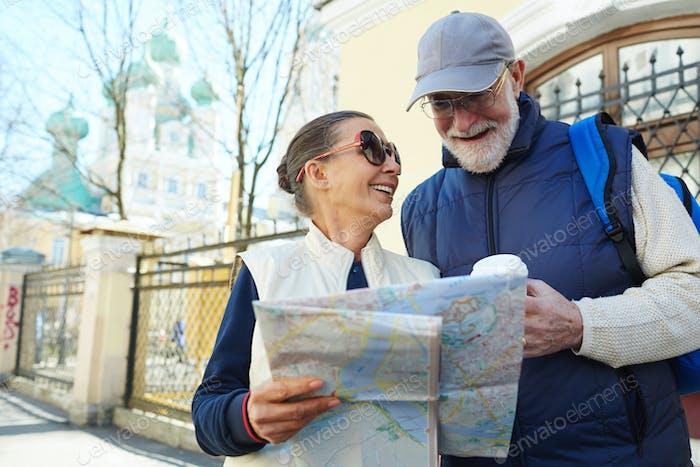 Adventure of seniors