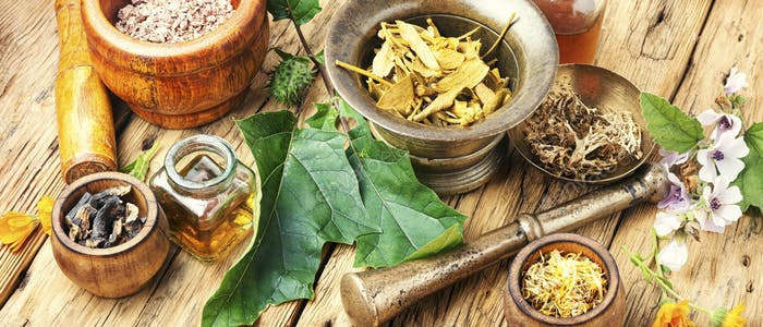 Herbal naturopathic medicine