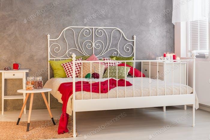 Cozy marital bed