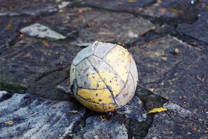 Dirty Soccer ball