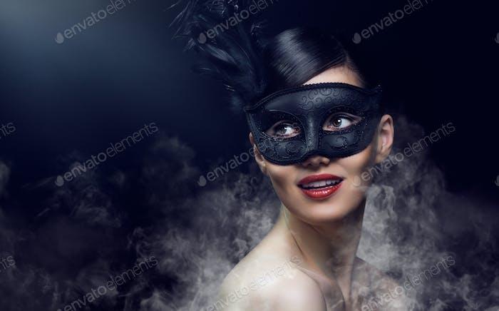 máscara de mascarada