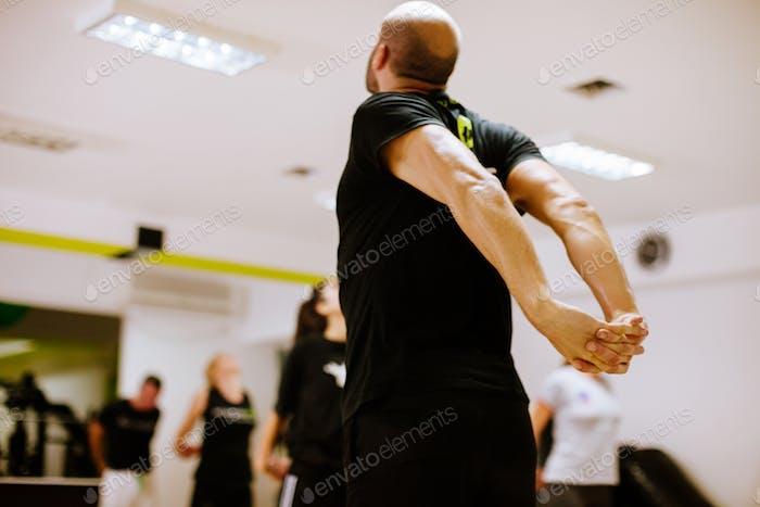 Fitnessgruppentraining