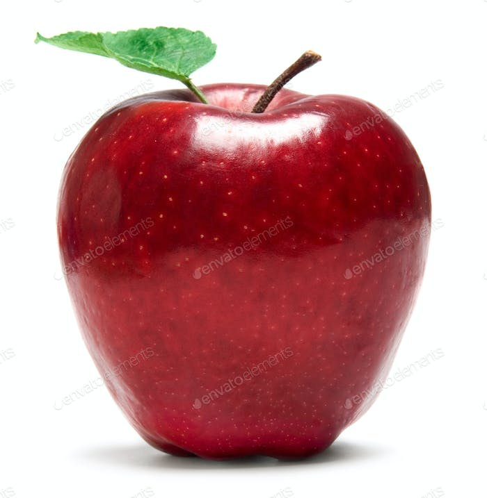Fresh red apple