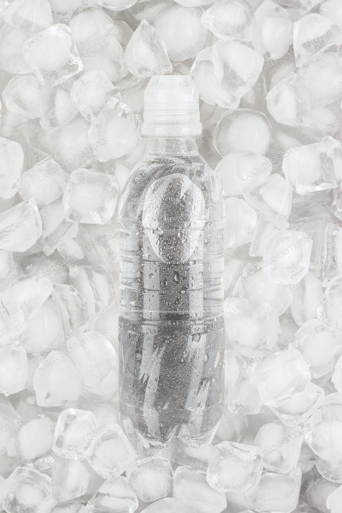Cold Plastic Water Bottle