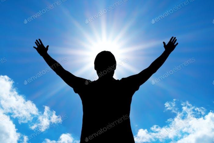 Anbetung an Gott