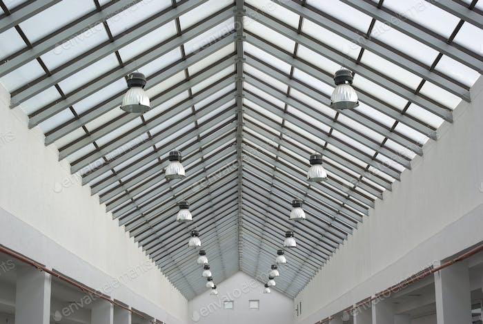 Dach der Industrieanlage