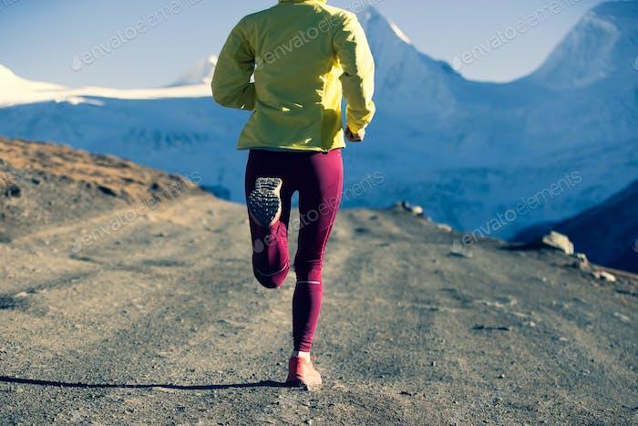 Trailrunner-Langlauf in Winterbergen