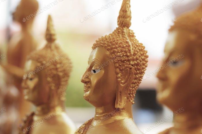Buddha of art in temple