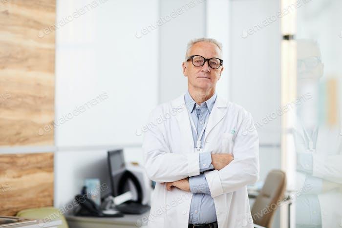 Confident Senior Doctor