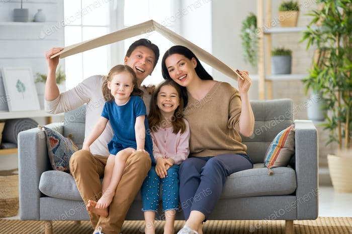 Concept of housing for young family