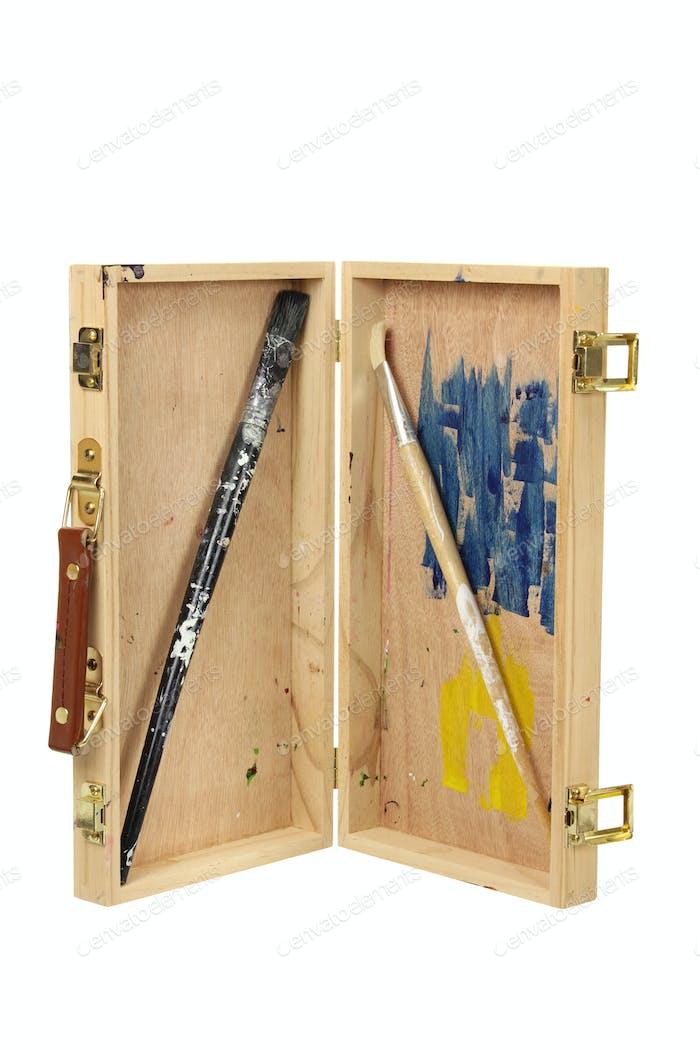 Wooden Artist Case