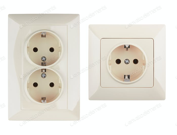 electrical connector isolated