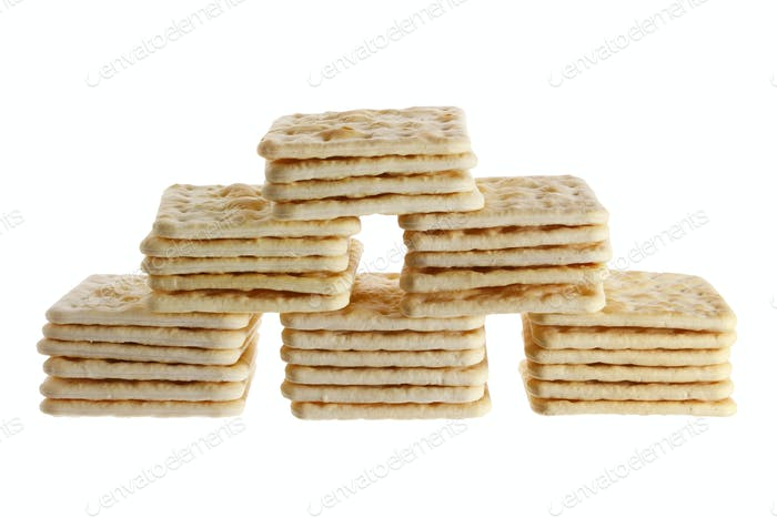 Stacks of Crackers