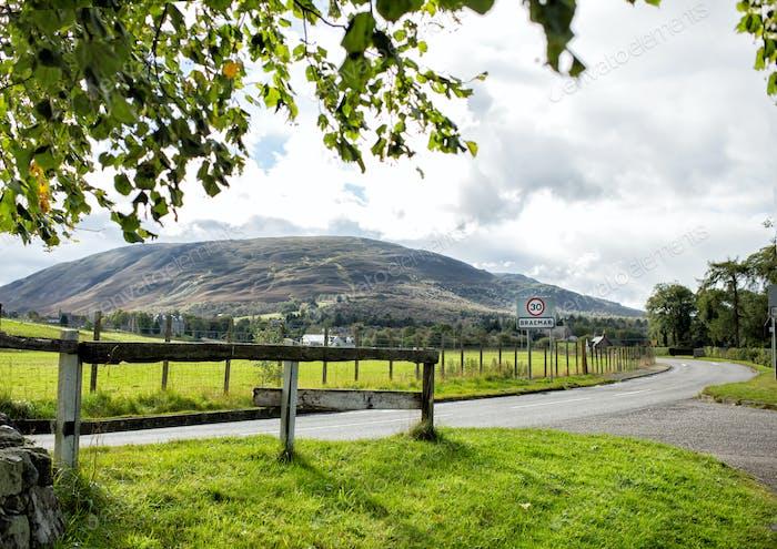 Landscape in Scotland