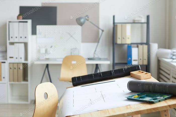 Architekten-Arbeitsplatz-Hintergrund
