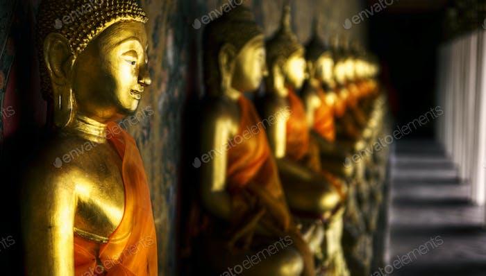 Buddhas of Wat Arun