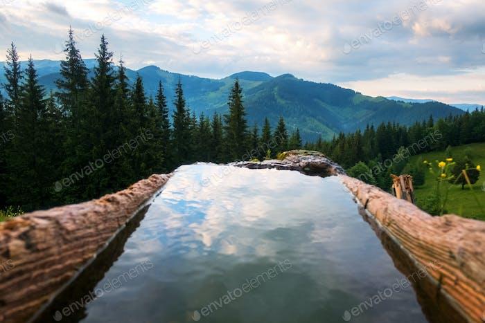 Die Wasserquelle