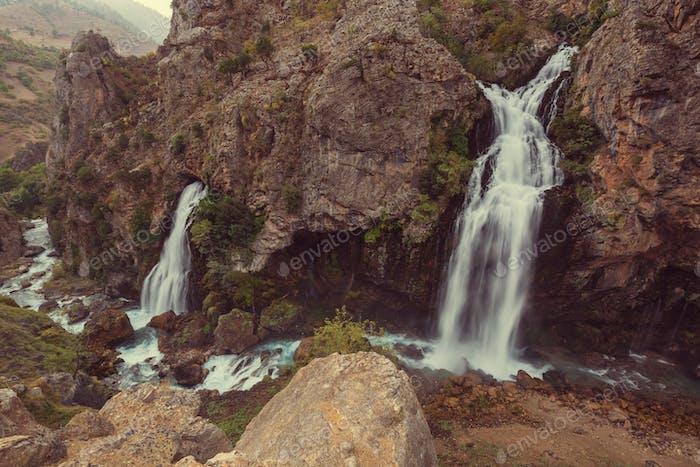 Waterfall in Turkey