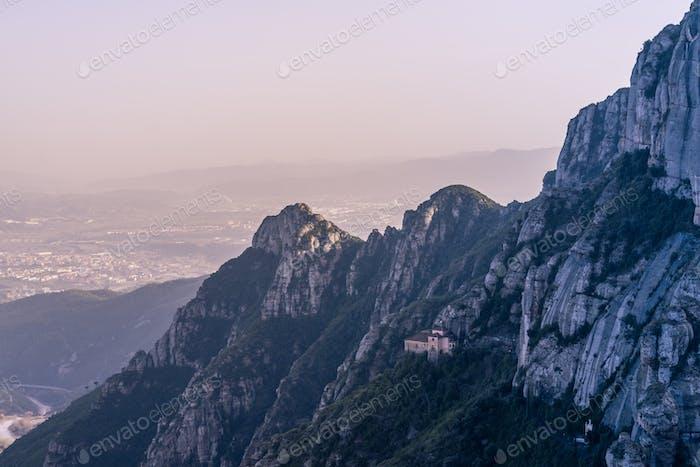 Montserrat Mountains Peaks