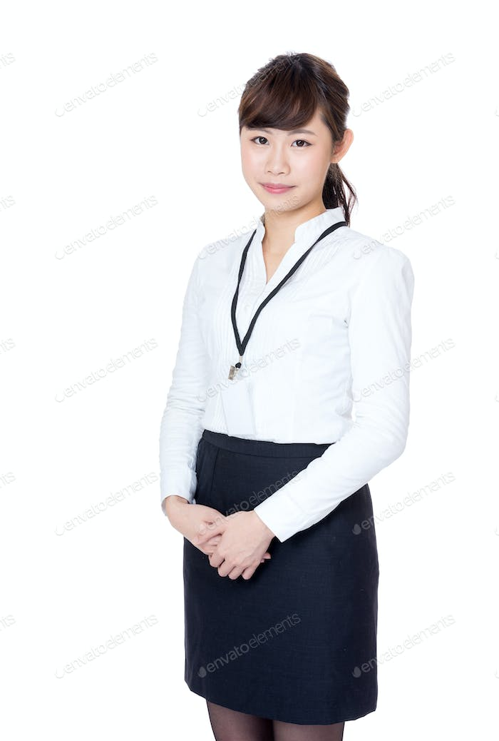 Asia businesswoman