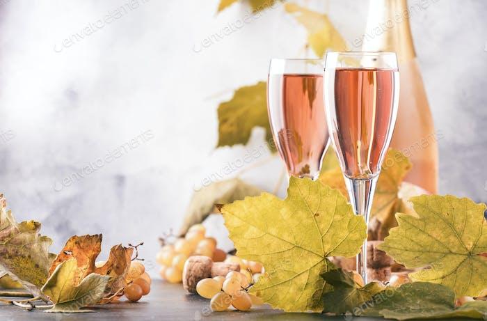 rosa Champagner
