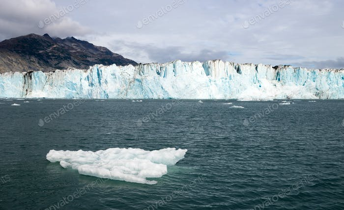 Iceberg Glacier Ice Water Surface Marine Landscape Aquatic Wilderness