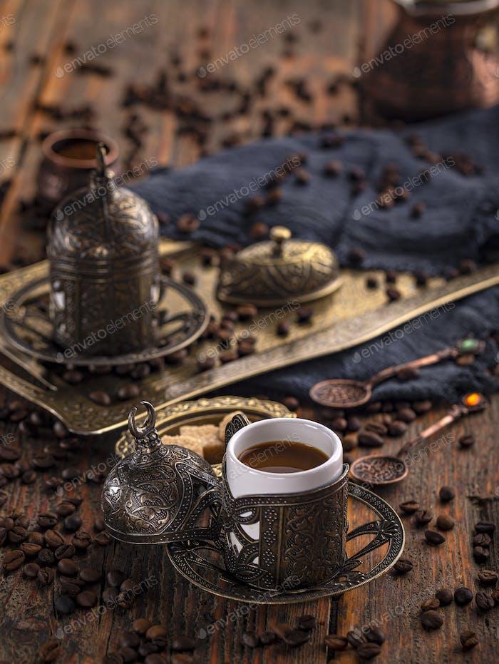 Turkish coffee cup