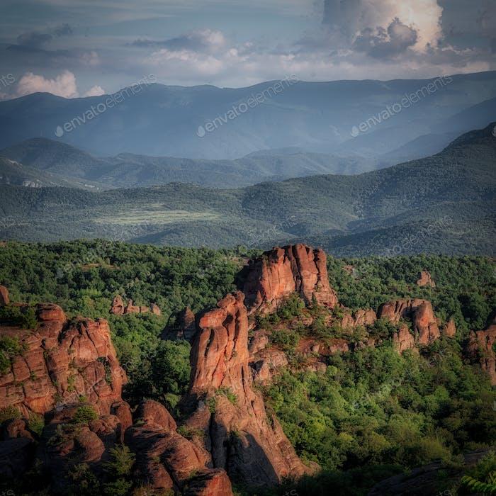 Landscape View of  Belogradchik Rocks, Bulgaria