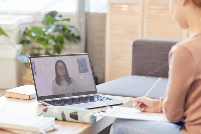 Online Lesson with Tutor