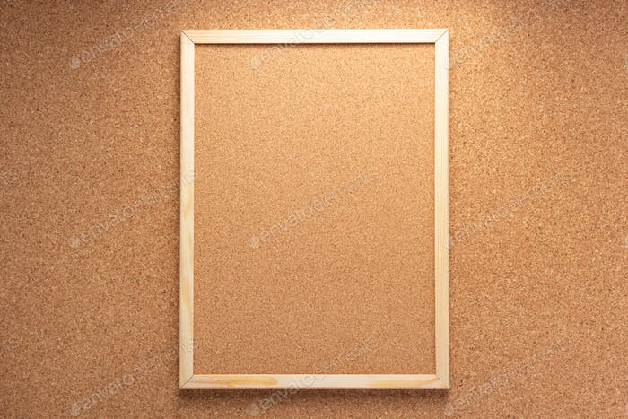 corkboard on cork background
